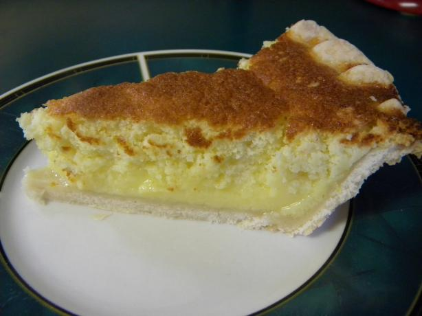 Colonel Sanders' Lemon Sponge Pie