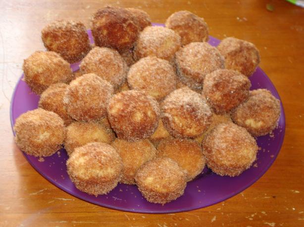 Cinnamon Butter Puffs