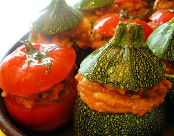 Petits Farcis - Provençe Stuffed Baked Vegetables