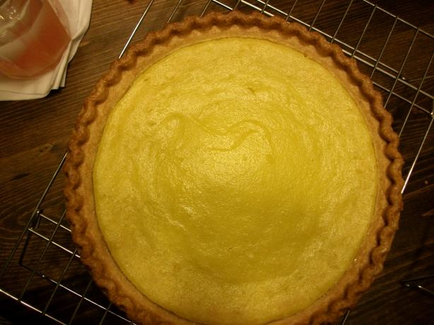 Lemon Yellow Squash Pie
