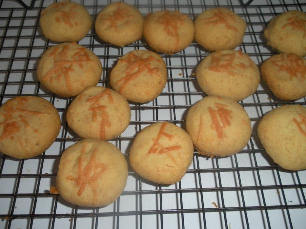 Savory Parmesan Shortbread Rounds