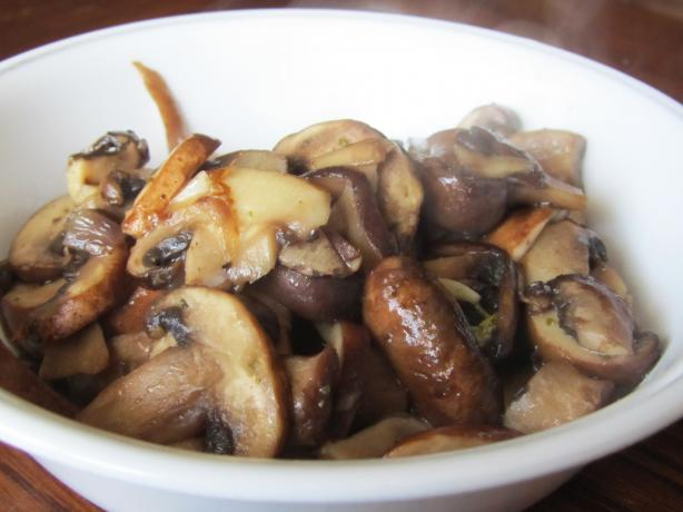 Mushrooms in Spanish Sherry