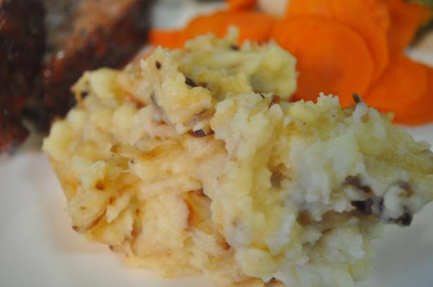 Caramelized Onion Mashed Potatoes