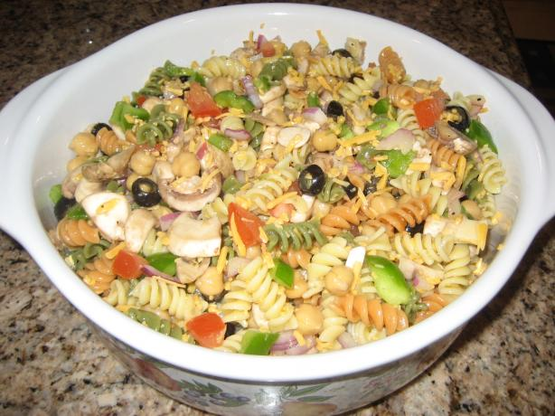 Easy Tri-Color Pasta Salad