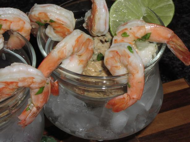 Tequila Shrimp With Dried Tomato Mayo