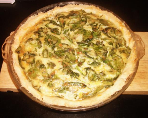 Savory Spinach & Broccoli Quiche