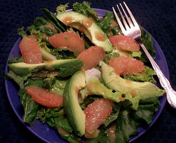 Suzanne's Avocado and Grapefruit Salad