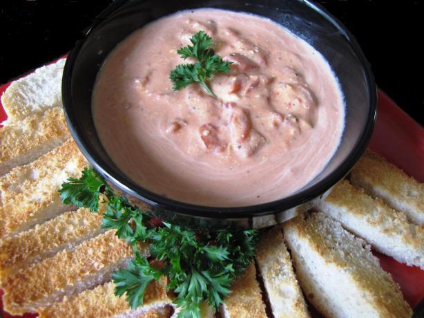 Hot Italian Tomato and Cream Cheese Dip