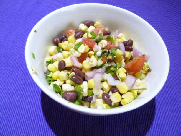 Corn, Tomato and Black Bean Salad