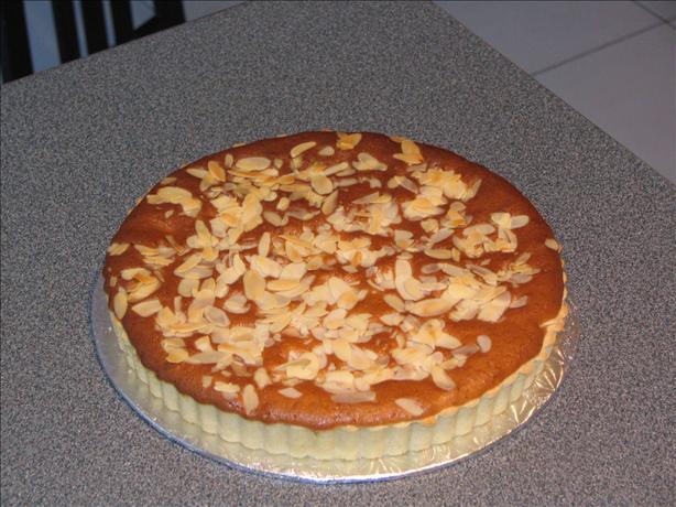 Almond Tart--Crostata di Mandorle