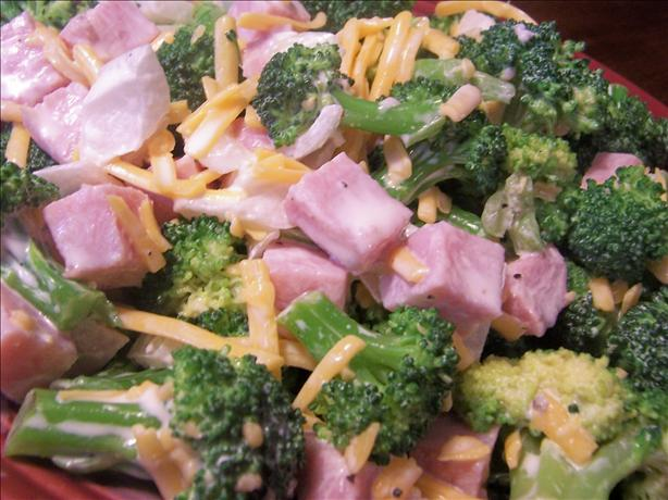 Broccoli Salad With Ham