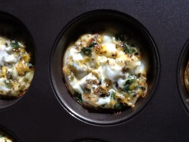 Easy No-Crust Mini Quiche Appetizer