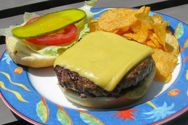 The Best Grilled Hamburgers