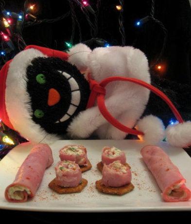 Almond Ham Roll-Ups