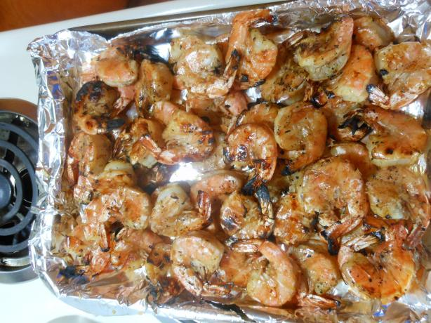 Lime-Soy-Ginger Marinated Shrimp
