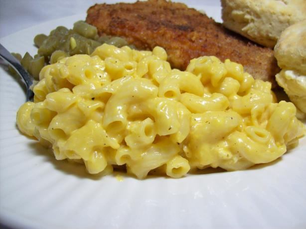 Stove Top Mac-N-Cheese by Alton Brown