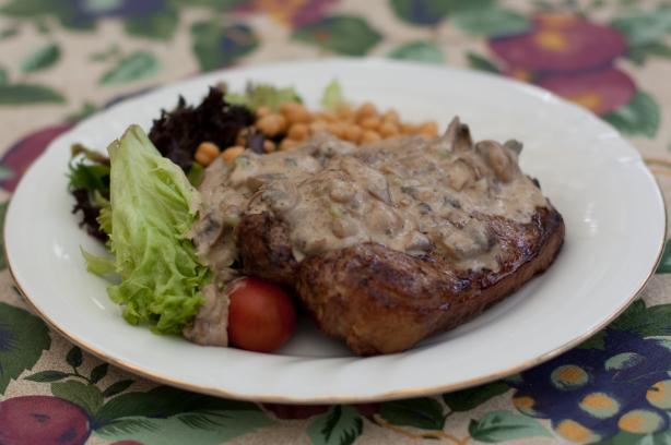 Mushroom Sauce for BBQ Meats