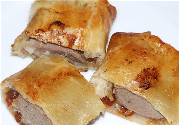 Huey's Lamb Sausage Rolls