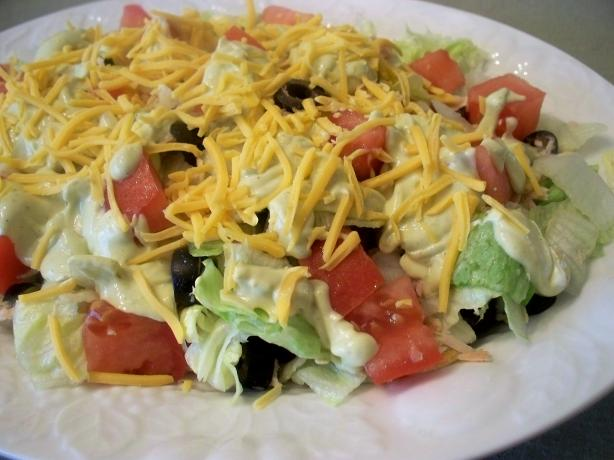 """"""" Meal in a Bowl """" Guacamole Salad"""