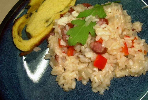 Prosciutto and Pepper Risotto