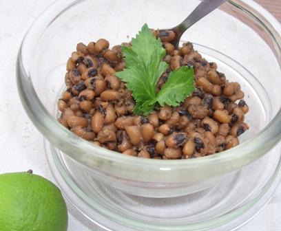 Rachel's Vegan Cilantro Lime Black-Eyed Peas