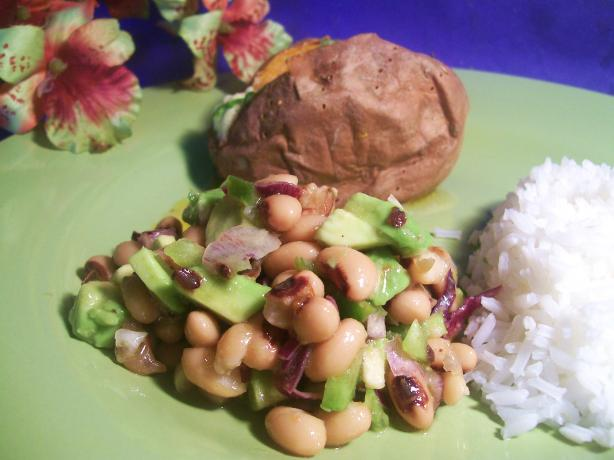 Szechuan Black-Eyed Pea Salad