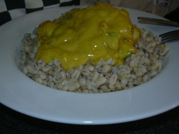 Chicken With Curry and Lemon Sauce