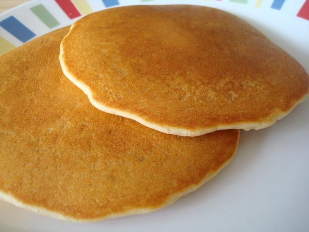 Peanut Butter Feather Pancakes