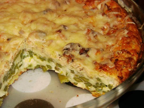 Salmon Asparagus Pie