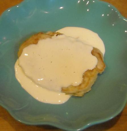 Pina Colada Pancakes with Rum Sauce