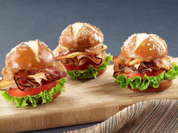 Sweet N' Smokey Maple Honey Turkey Sliders