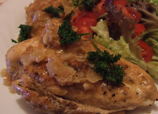 Sauteed Chicken Breasts With Almonds