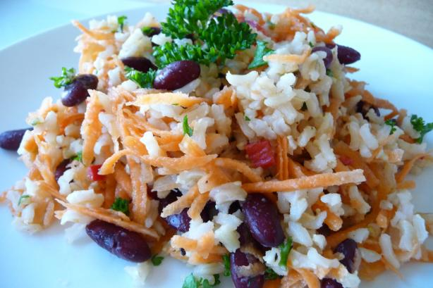 Mexican Inspired Brown Rice Pilaf