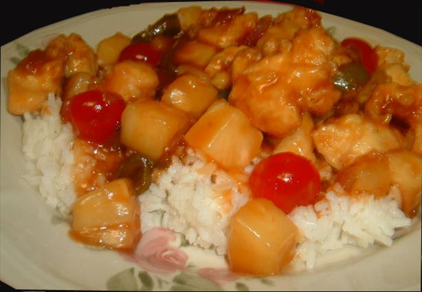 My Version of Sweet and Sour Chicken