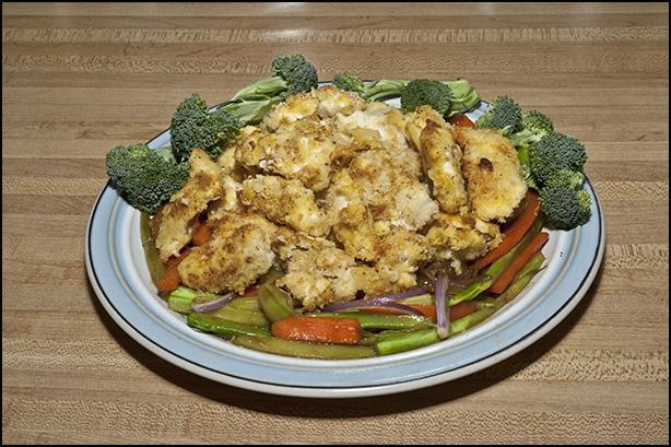 Crispy & Spicy Chicken Tenders My Way