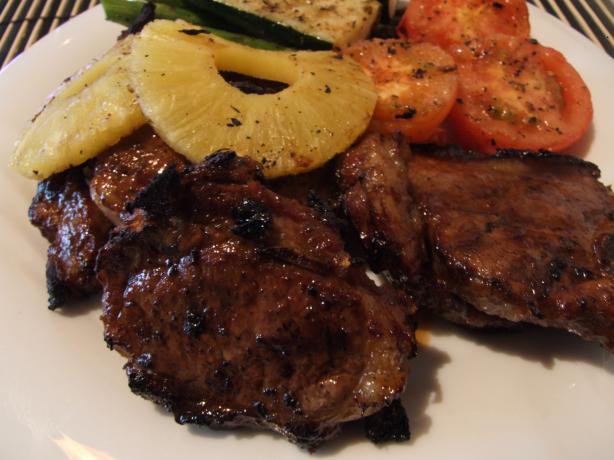 Aussie Lamb Chops (Grilled)