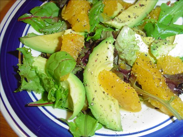 Avocado-Orange Salad