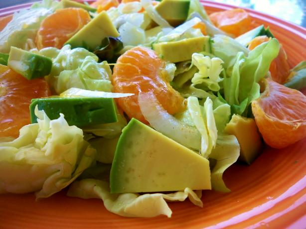 Avocado-Orange Salad (For Two)