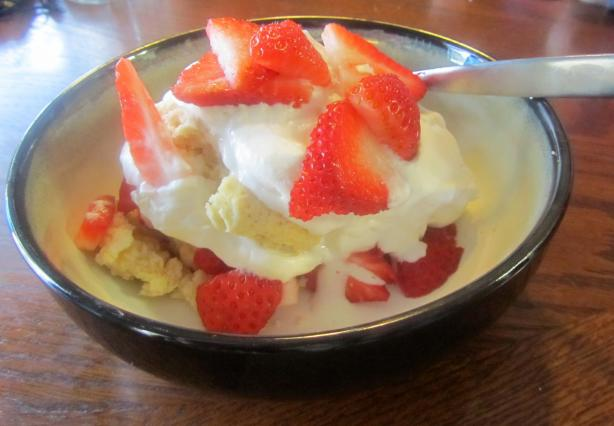 Strawberry Shortcake Old Fashioned Style!