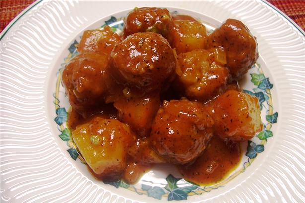 Shane's Sweet and Sour Meatballs (My Version)