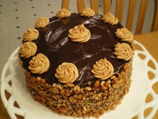 """ Honey, I'm Peanuts About You!"" Cake"