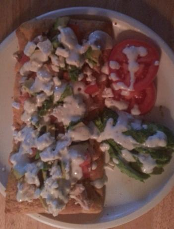 Greek Pizza With Tzatiki
