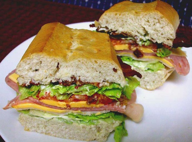 Tailgater Club Sandwich