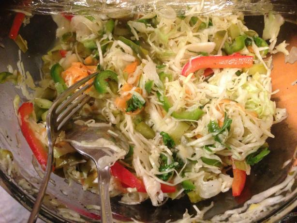 Luby's Cafeteria's Spanish Cole Slaw