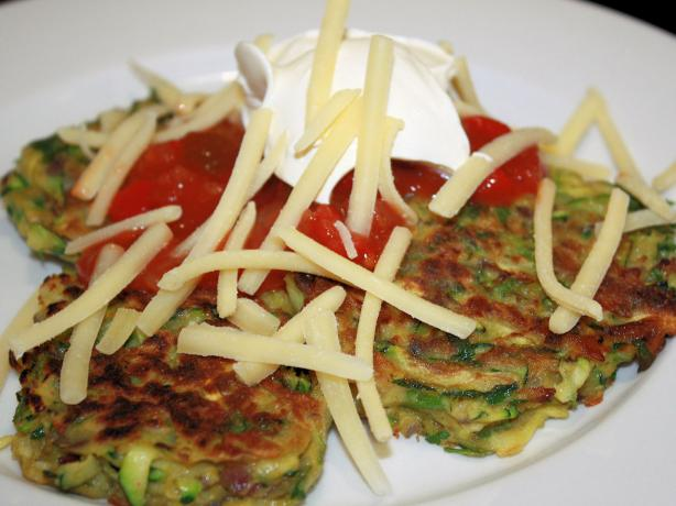 Mexican Zucchini Fritters
