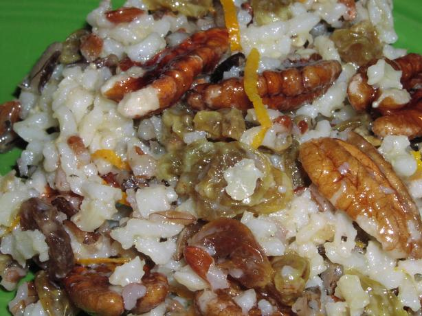 Pecan Wild Rice Salad