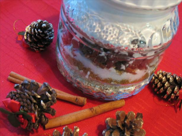 Oatmeal-Chocolate Chip Cookies in a Jar (For Gift-Giving)