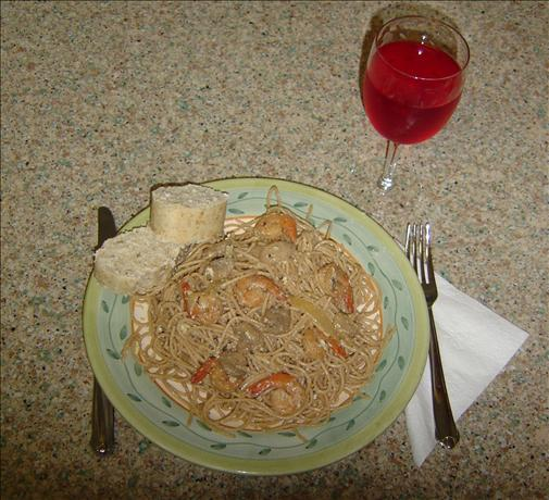Linda's Lemon Shrimp a La Vodka Pasta