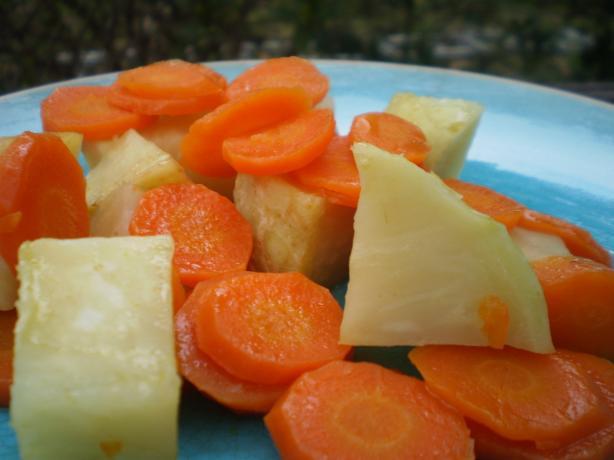 Sauteed Carrots and Celery Root (Saute De Carottes Et Celeri-Rav