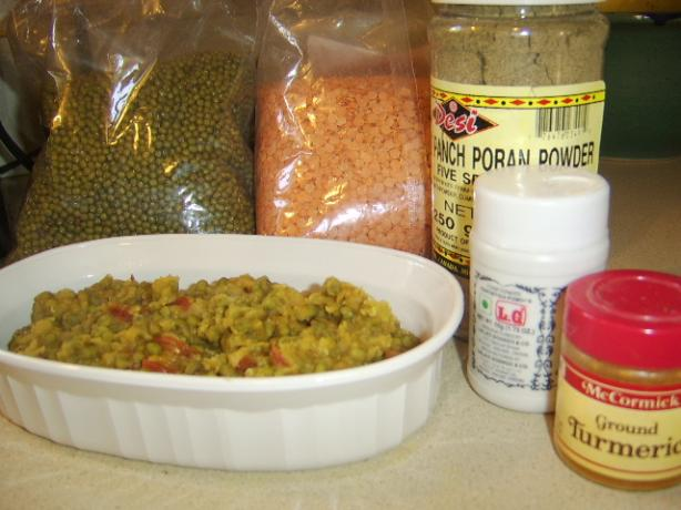 Lentils With Panch Phoran (Dal)